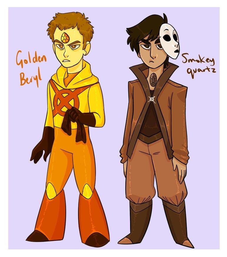Brain/ Hoodie and Tim/Masky