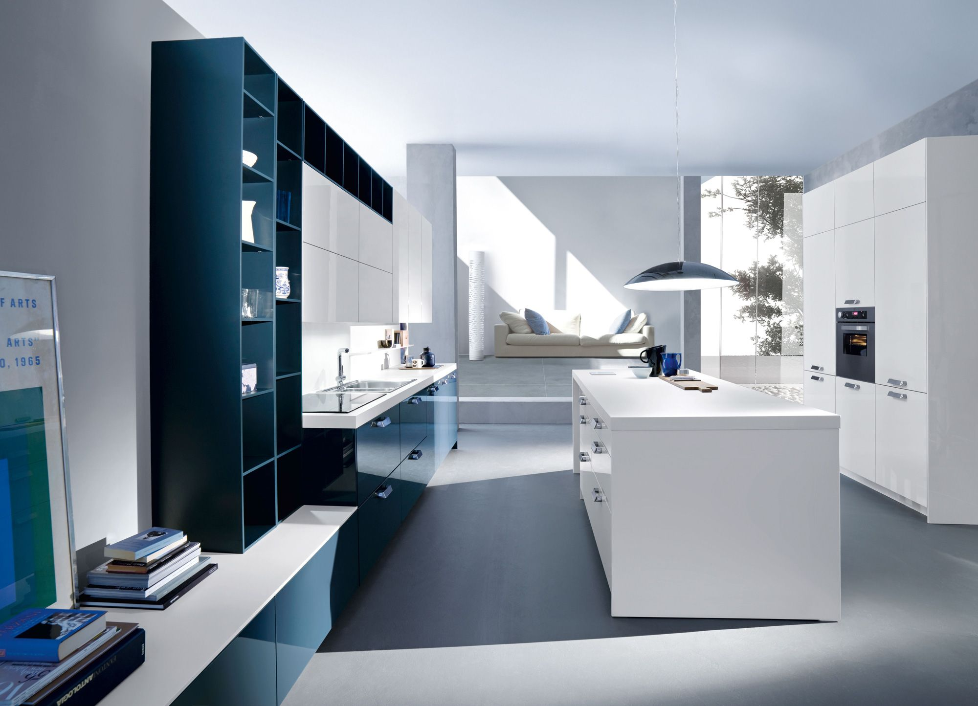 Aesthetic And Functional Contemporary Snaidero Code Kitchen Classy Italian  Modern Kitchen Cabinets Decorating Design
