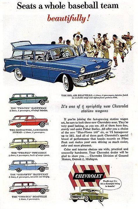 1956 Chevrolet Flyer Me Encantan Estas Camionetas Me Parecen Lo