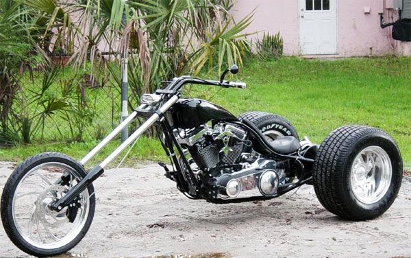 Google Image Result For Http Www Santiagochopper Com Shop Images Deep Seat Rigid Trike Frame2 Jpg Trike Motorcycle Trike Custom Trikes