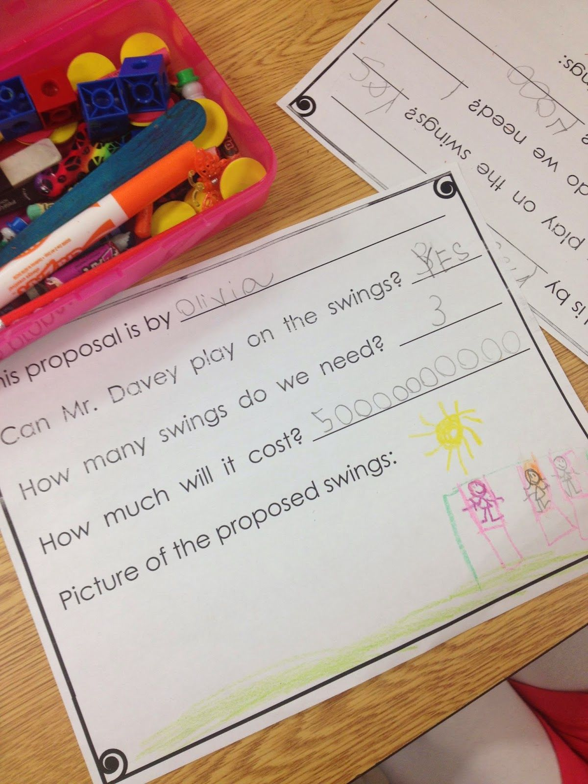 Launching Persuasive Writing In Kindergarten