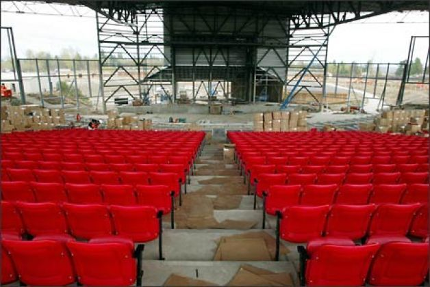 White River Amphitheatre Will Be One Of A Kind Locally White River Amphitheater River