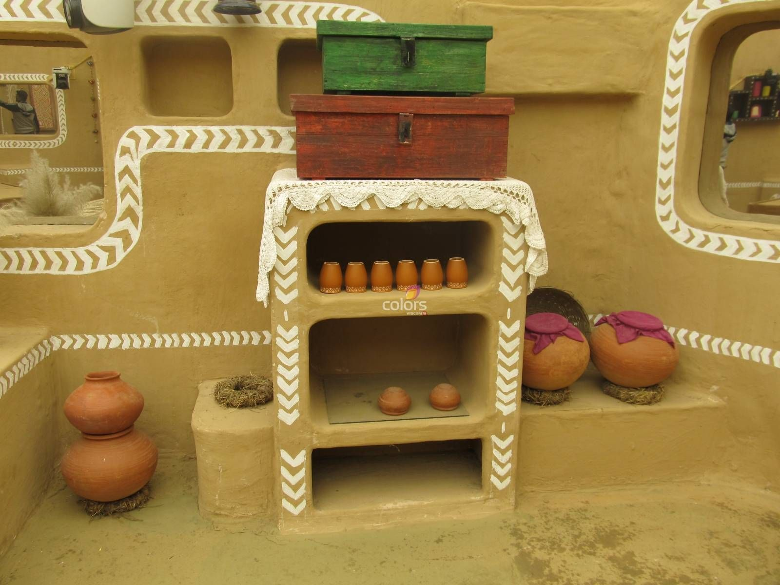 indian village wall art .   Olden (Eco Friendly) & Best Ways of Life ...