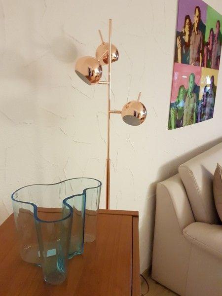 Austin Stehlampe, Kupfer | Stehlampe, Lampe, Lampen