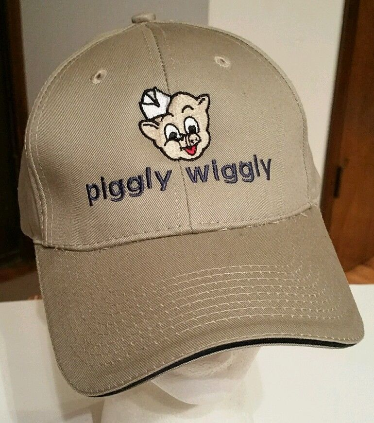 Piggly Wiggly Grocery Store Hat Baseball Cap trucker The Pig fishing  camping New  PortCompany  BaseballCap 90fcd13fcd8