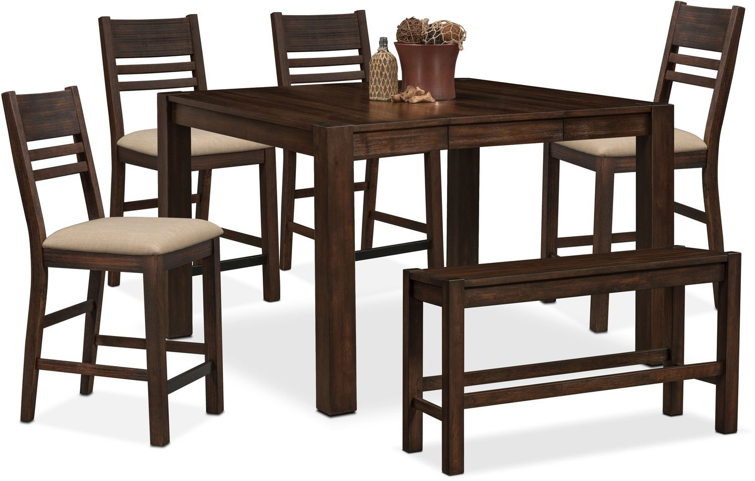 Vcf Dining Room Furniture Tribeca Counter Height Table 4 Side