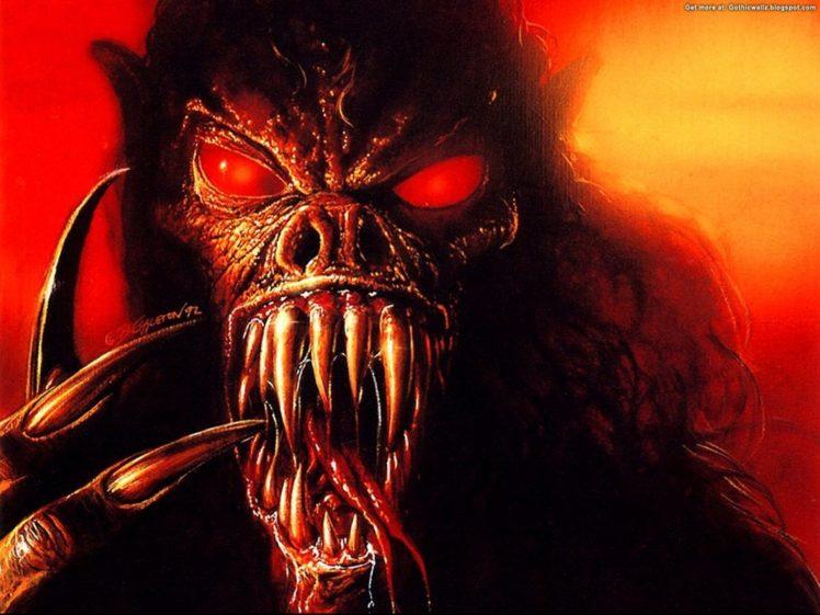dark, Demon, Fantasy, Evil, Art, Artwork Wallpapers HD
