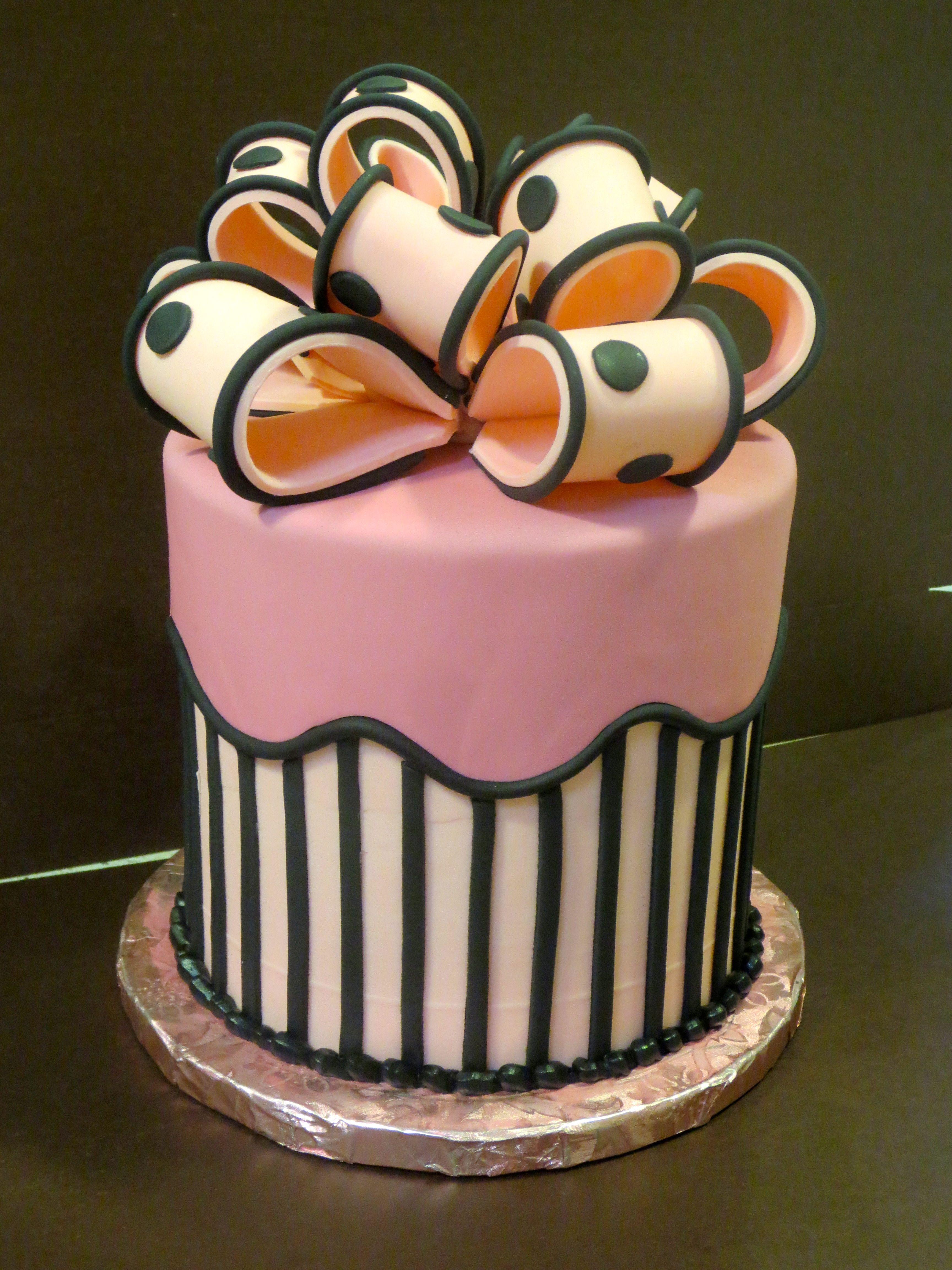 Buzz Lightyear Cake And Elegant Birthday Cake Pink