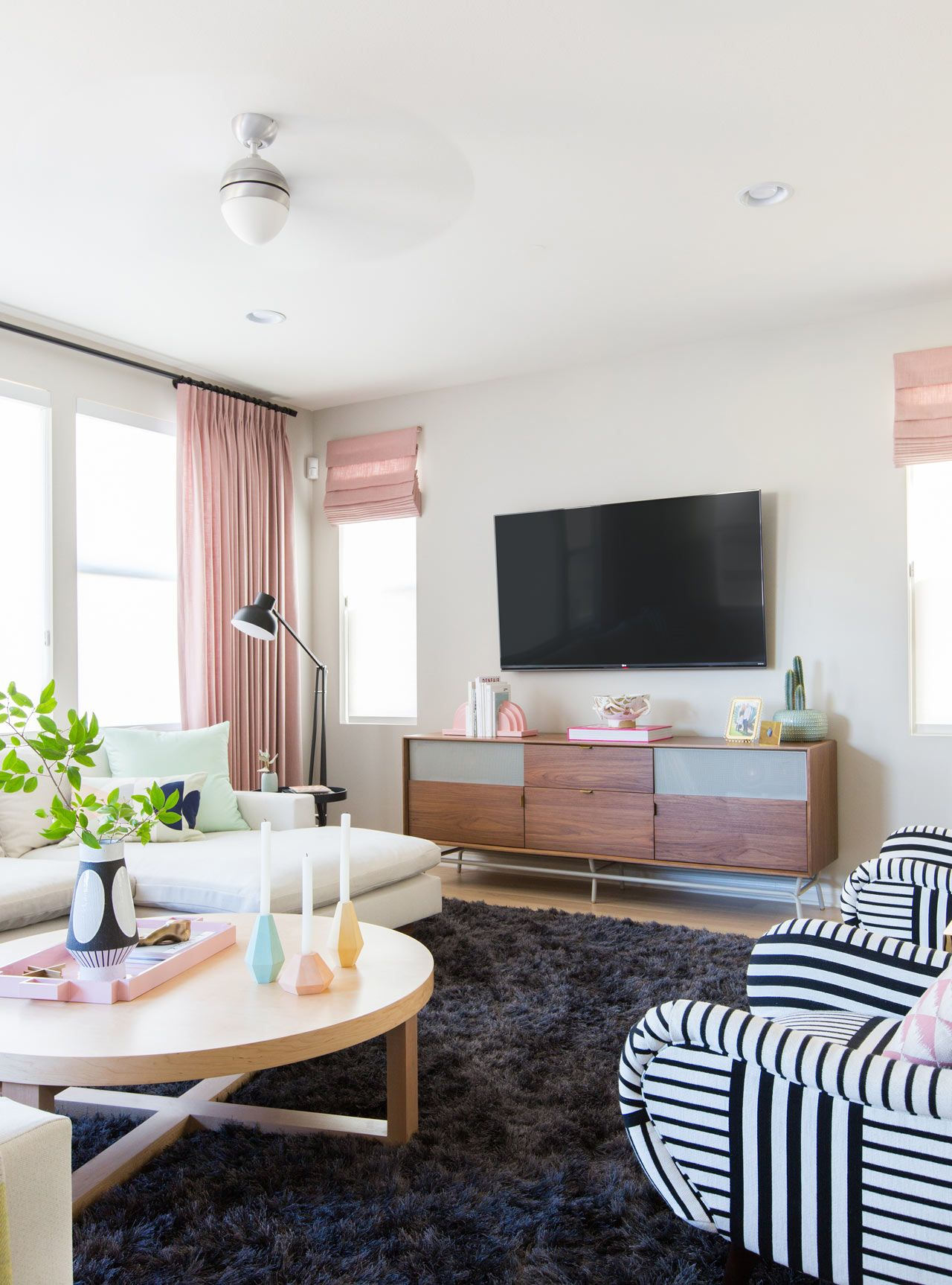 House Milk BEFORE & AFTER: Living Space Redesign by Emily Henderson ...