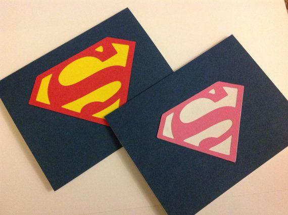 Invitaciones De La Fiesta De Cumpleaños De Superman O En