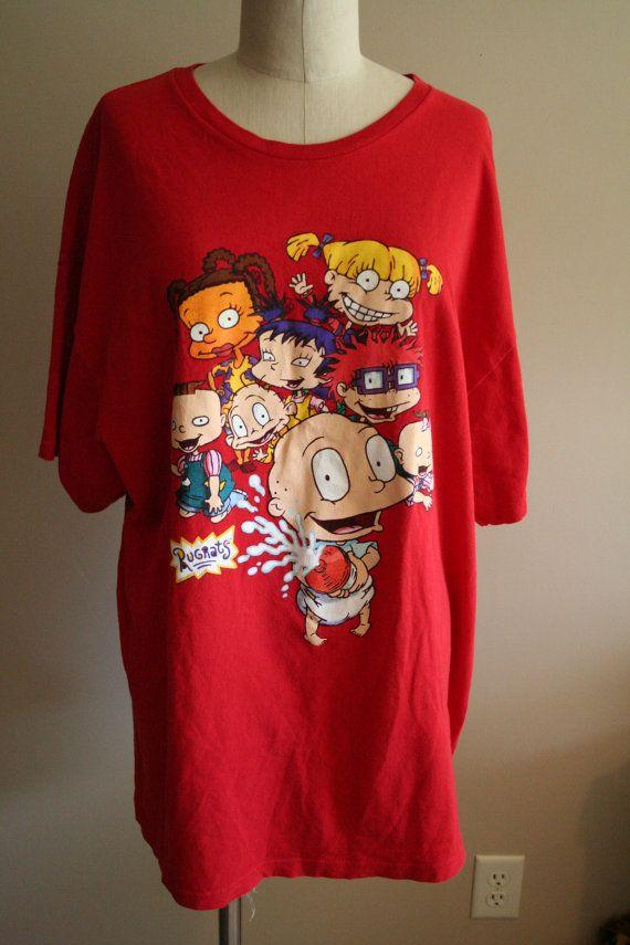 Rugrats Plus Size Vintage T Shirt