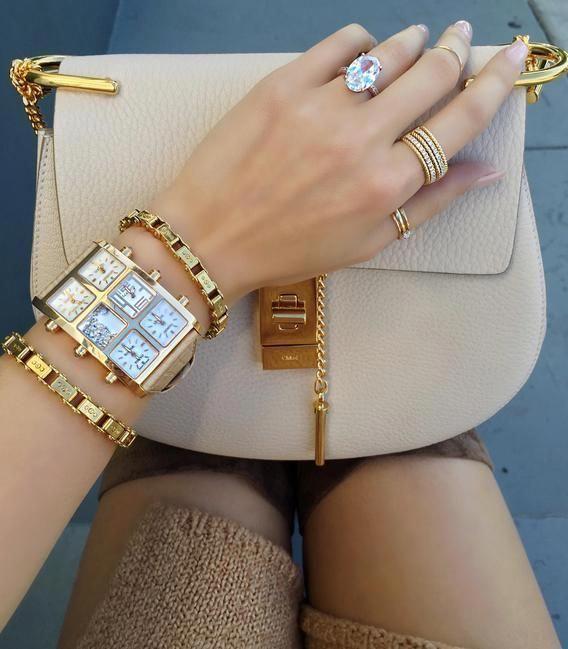 Gold 6MM watch shop online #Womenswatches
