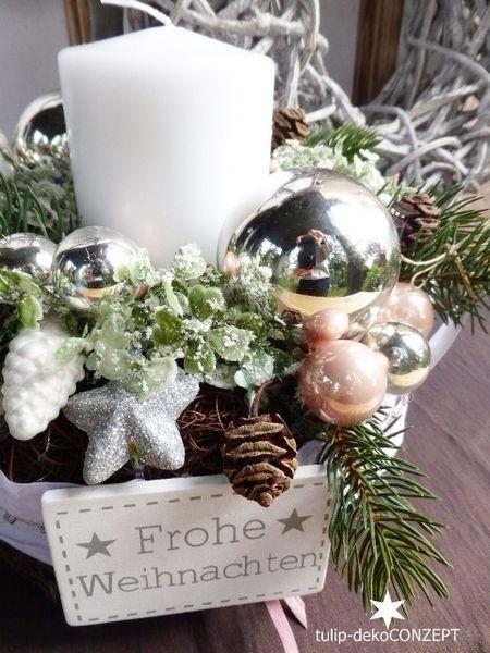 adventskranz zapfen wei ros best aus natur rebenkranz arrangiert mit kerze geweissten. Black Bedroom Furniture Sets. Home Design Ideas