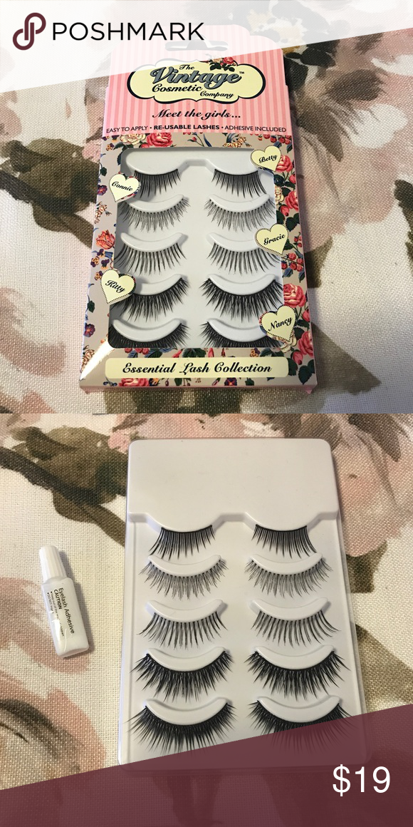 c22b7e50e09 5 Pairs of False Lashes - Great for makeup kit! NIB - Never Used - 100%  Authentic - 🚫 Trades/Lowball Offers Please - The Vintage Cosmetic Company  false ...