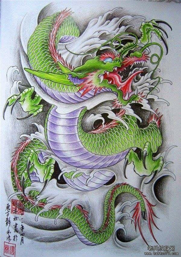 Tatuajes Japoneses Dragones pinmana-tattoo bamboo on มังกร | pinterest | tatuajes, tatuajes