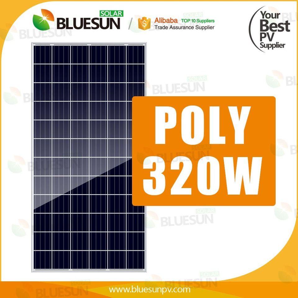 Bluesun Jinko 310w Solar Panel Pv Price Module Solar System Home Solar Panels House System Solar