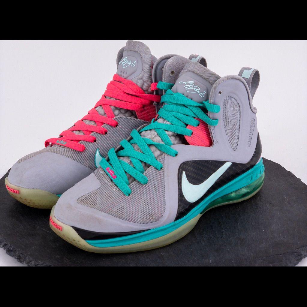 Nike Lebron 9 South Beach Mens Size 8 Lebron 9 Nike Lebron Nike