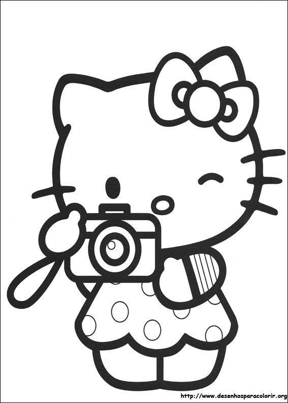 Hello Kitty Fotografa Hello Kitty Colouring Pages Kitty Coloring Hello Kitty Coloring