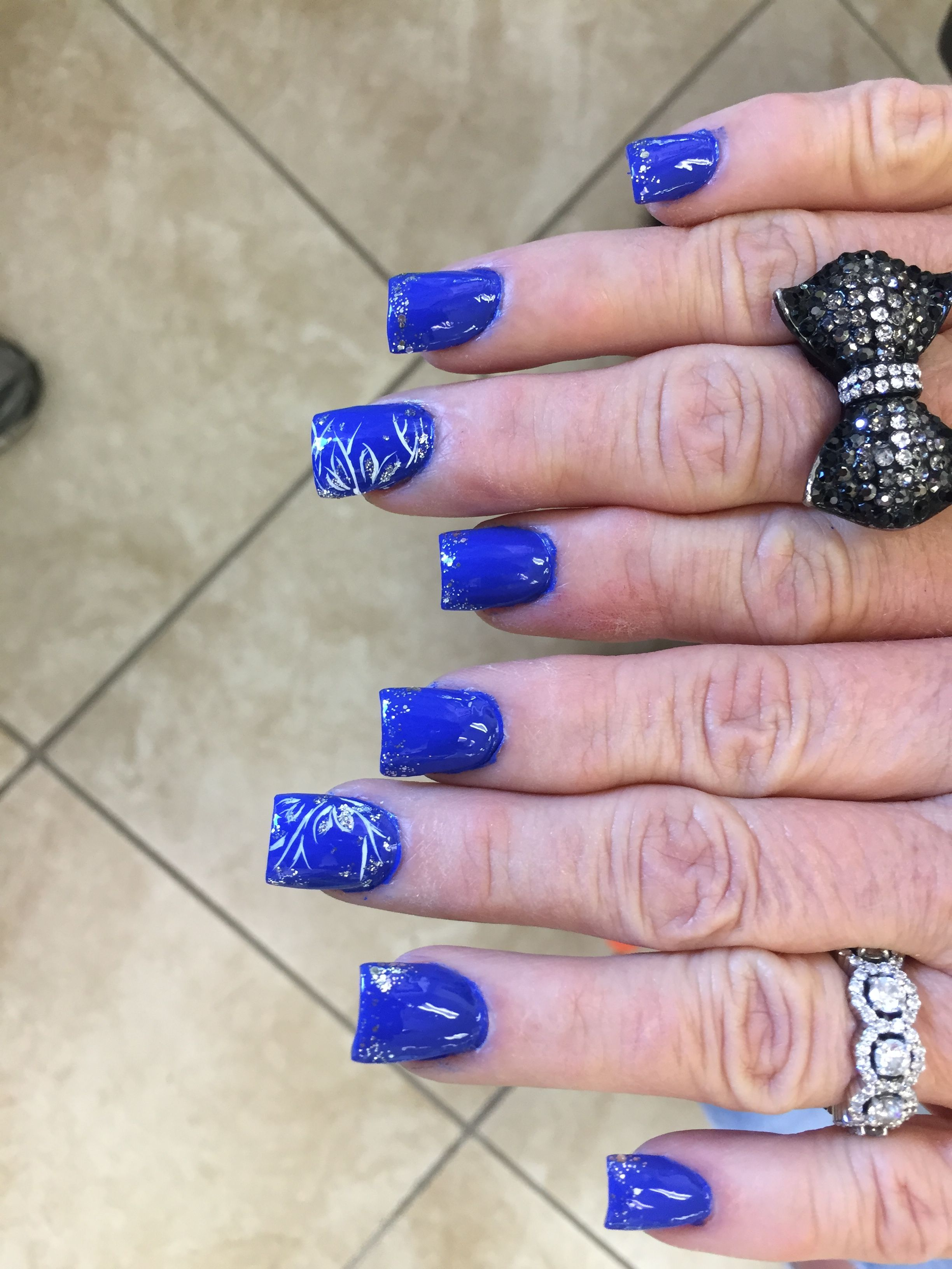 Midnight Fantasy From Top Nail Salon Linda Is The Best