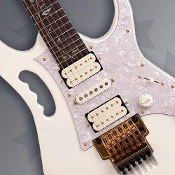 Ibanez JEM7V Steve Vai JEM Electric Guitar: