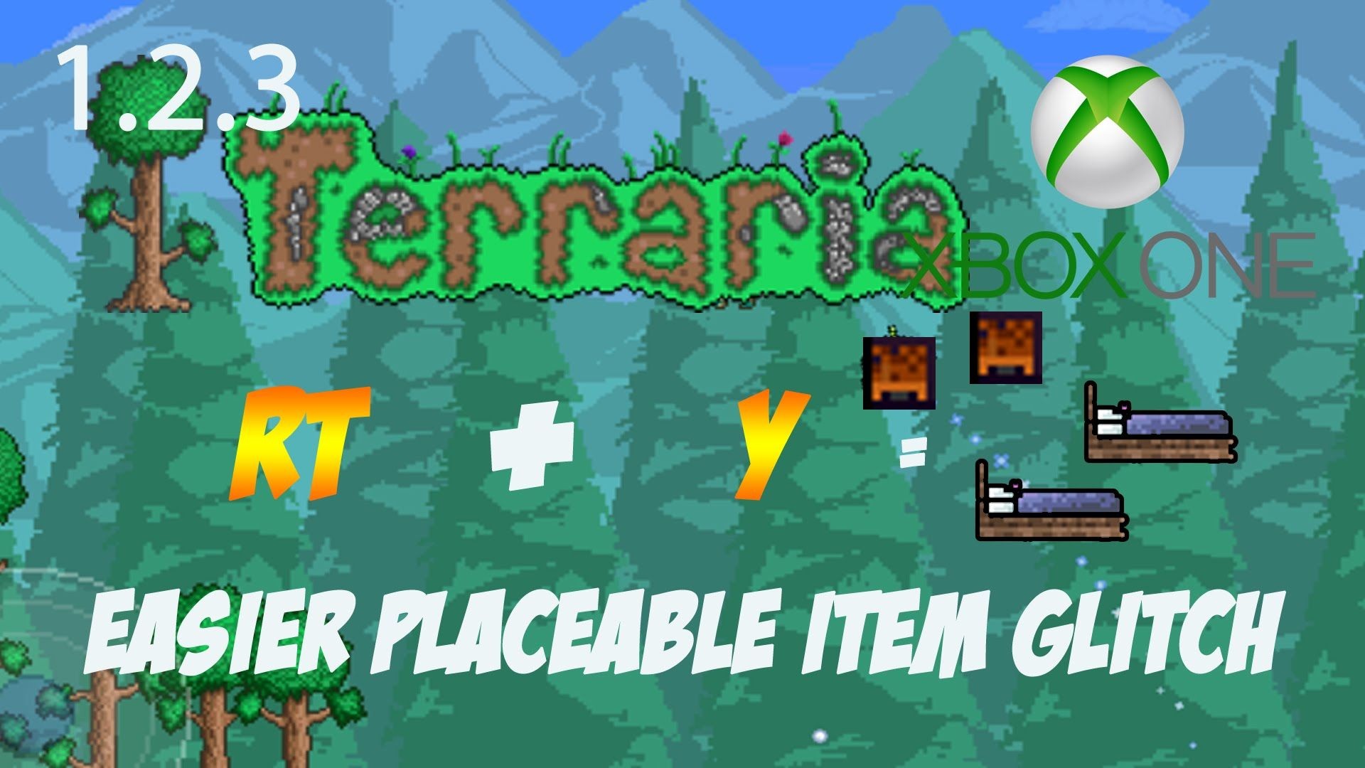 Terraria Duplication Glitch Solo Xbox One - All Placeable Items