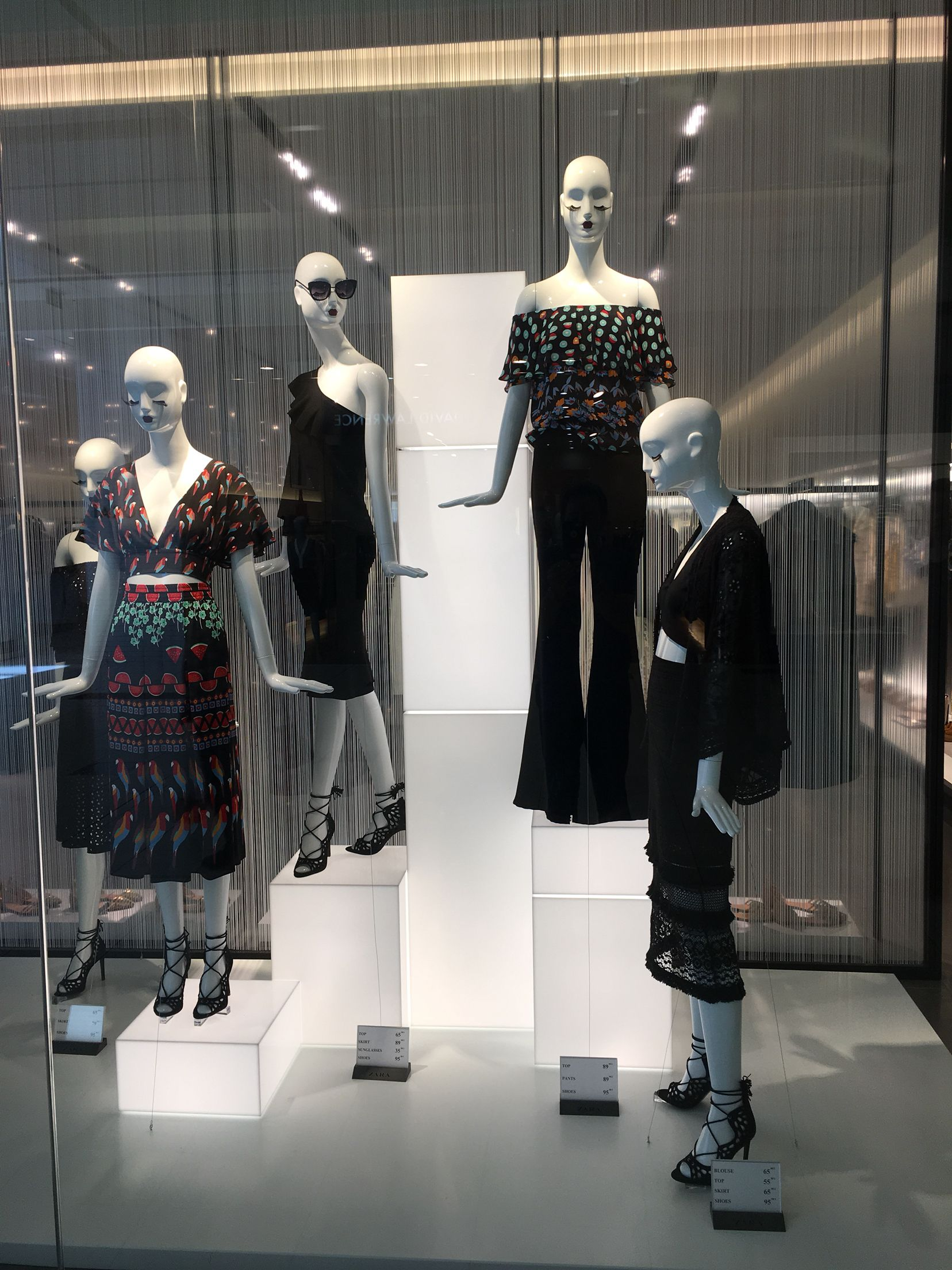 """ZARA, Sylvia Park Shopping Centre, Auckland, New Zealand, """"We have arrived in New Zealand"""", uploaded by Ton van der Veer"""