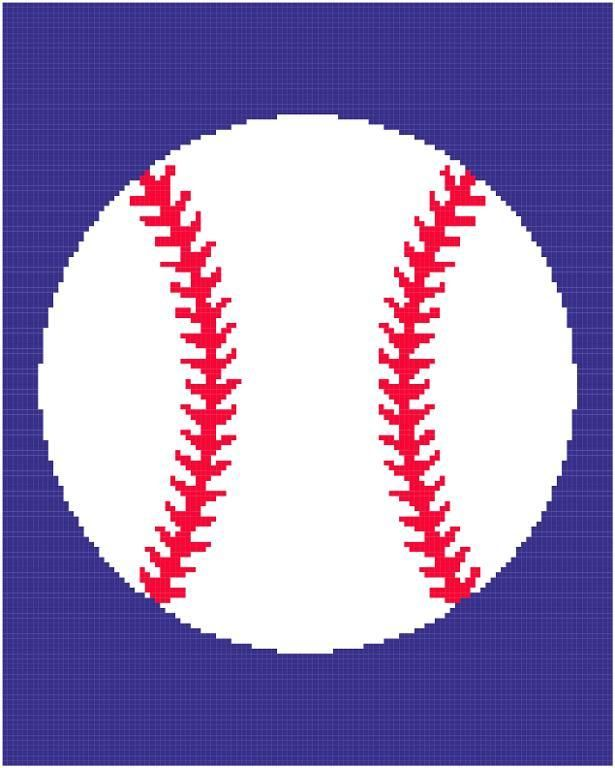 Looking For Your Next Project You Re Going To Love Baseball Afghan
