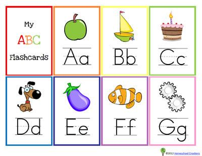 Gallery For > English Alphabet Cards | A - Z | Pinterest | Free ...