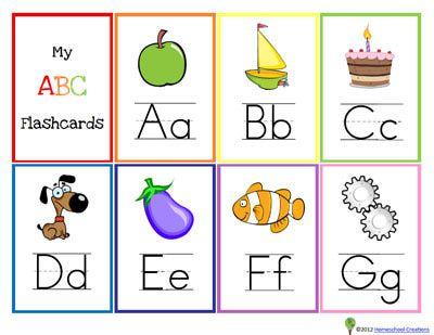Gallery For English Alphabet Cards A Z Alphabet Alphabet