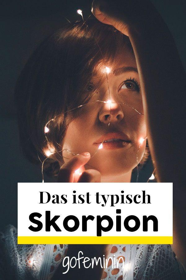 Typisch Skorpion! 10 Eigenschaften, die mit Sicherheit auf