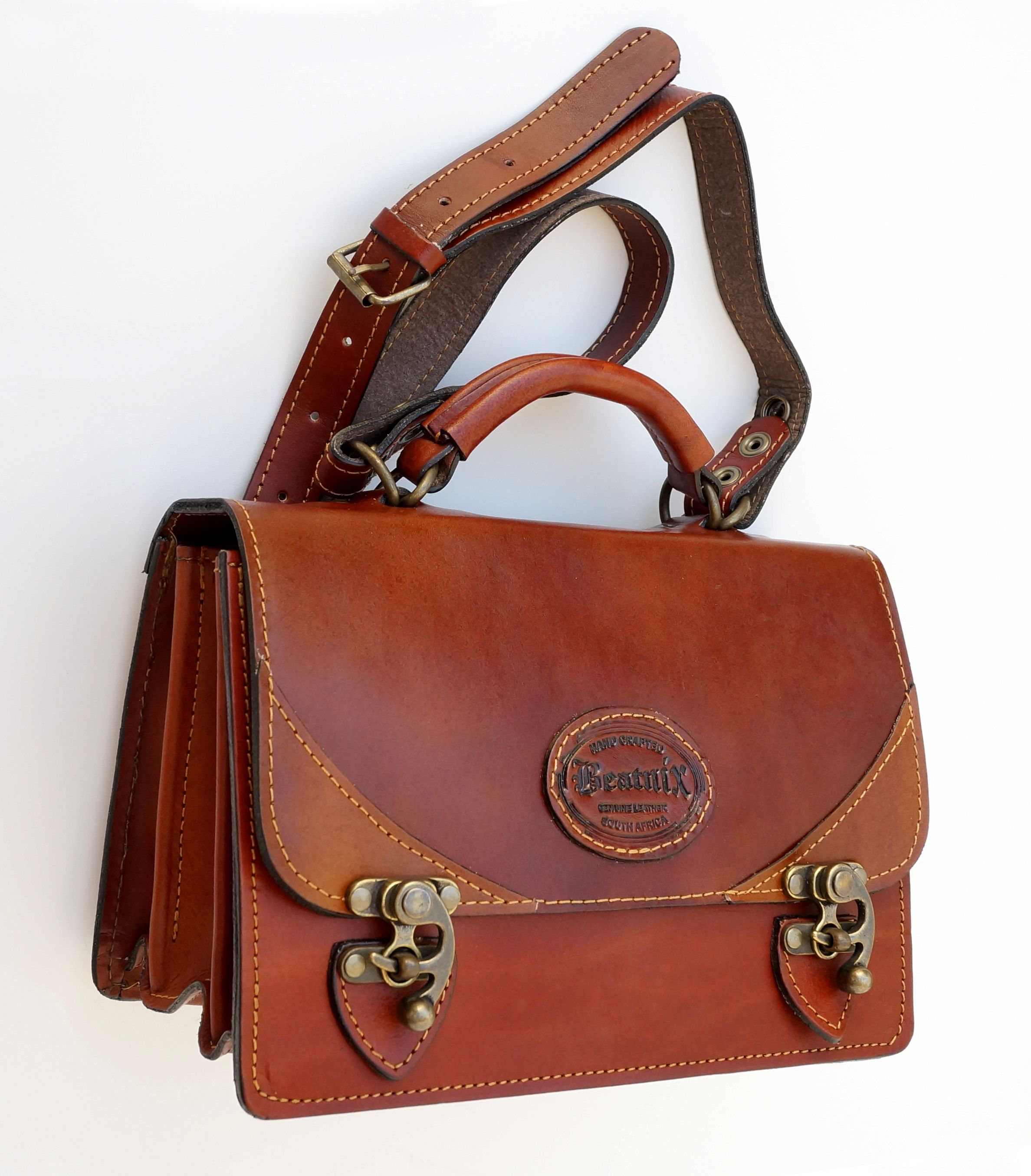 Beatnix Genuine Leather Handbag Handcrafted In South Africa Laptop Cases Cape Town Funny