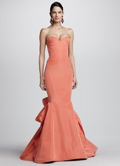 Spring colored gown | Beautiful evening gowns, Beautiful