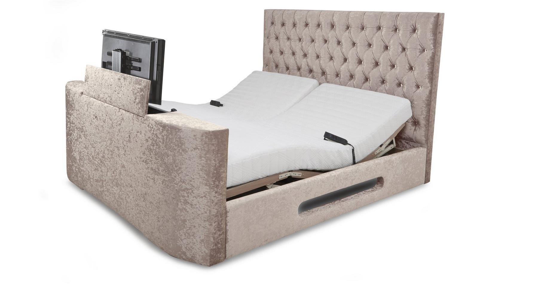 Impulse Super King Size (6 ft) Adjustable TV Bed & Mattress | DFS ...
