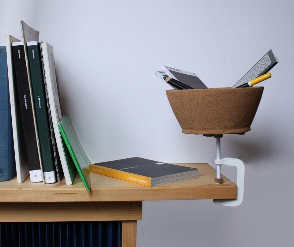 Amorim | Materia | Torno | Shelf | Cork | Design | Designer | www.homearama.co.uk