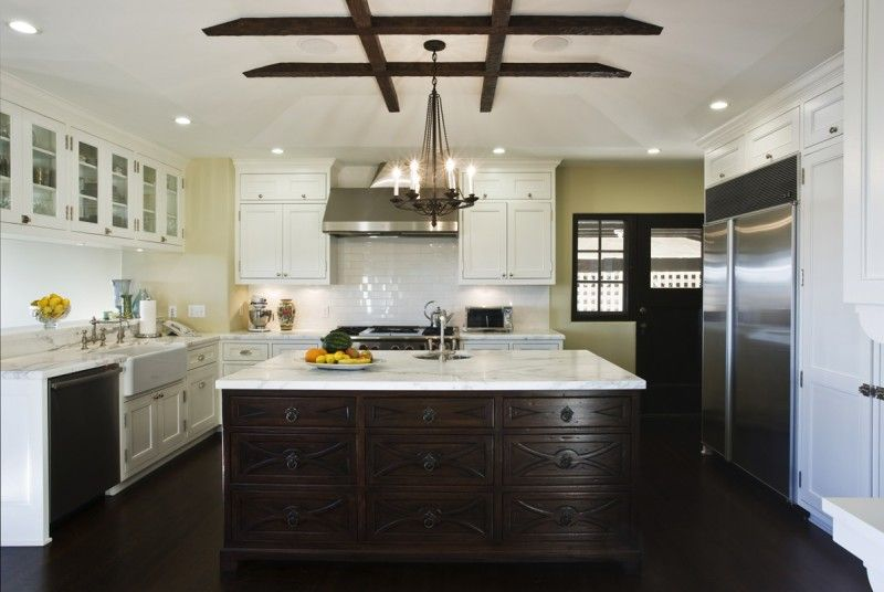 gorgeous modern kitchen for a spanish revival home spanish revival