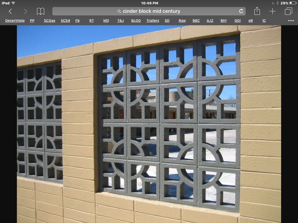Block Wall Fencing Phoenix Retaining Wall Fence Fence Design Brick Fence