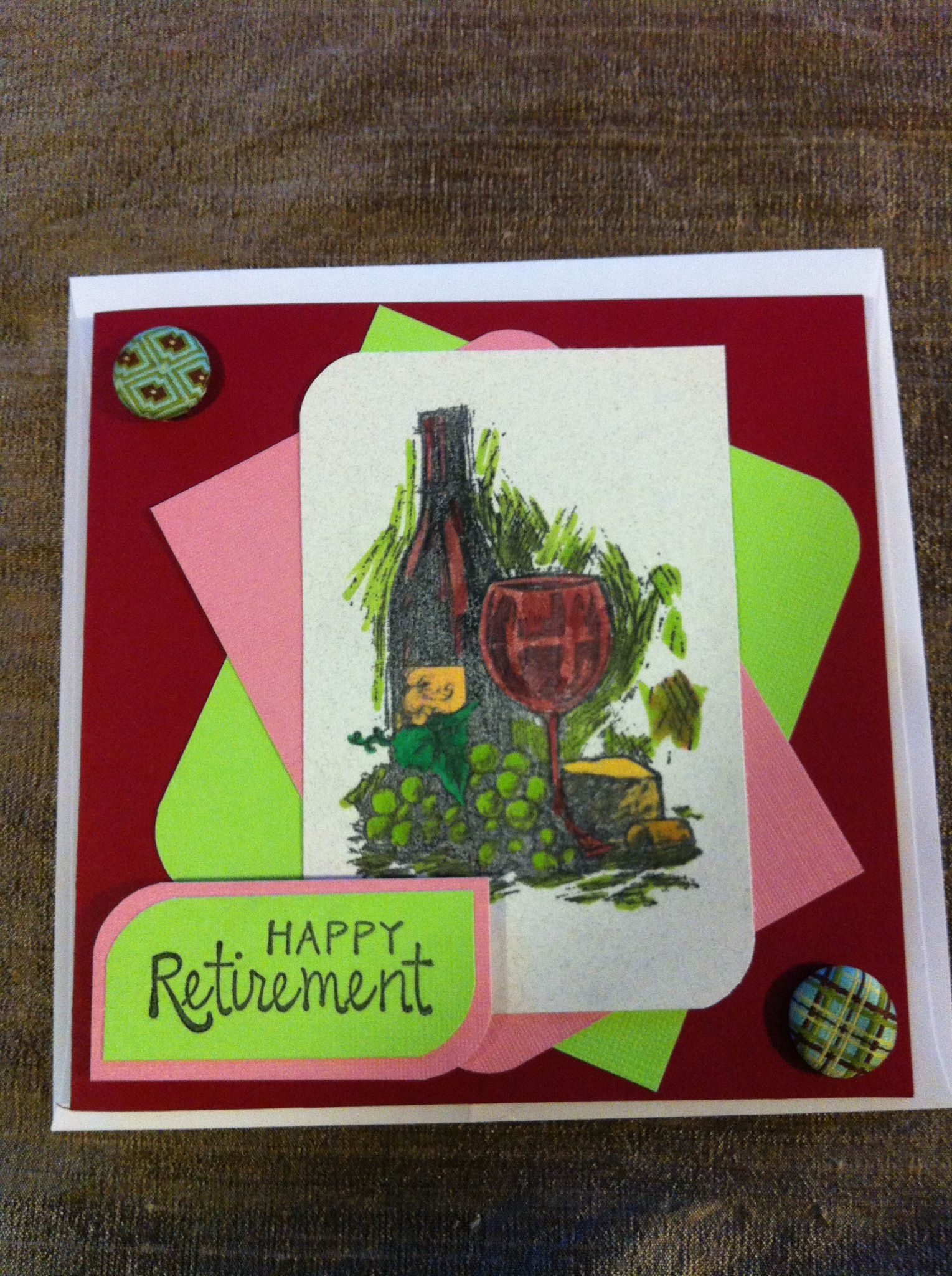 Retirement card retirement cards pinterest retirement cards