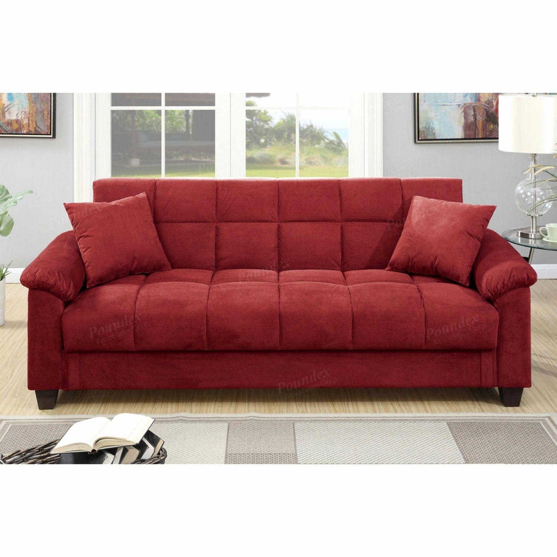Best Red Microfiber sofa px contemporary red microfiber storage