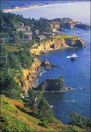 Oregon Oceanfront Hotel Inn At Otter Crest Photo Gallery