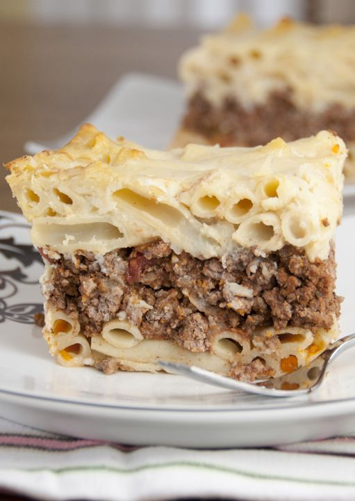 Pastitsio greek pasta bake recipe greek pasta greek and pasta pastitsio greek pasta bake ethnic food recipesgreek food recipessunday dinner forumfinder Image collections