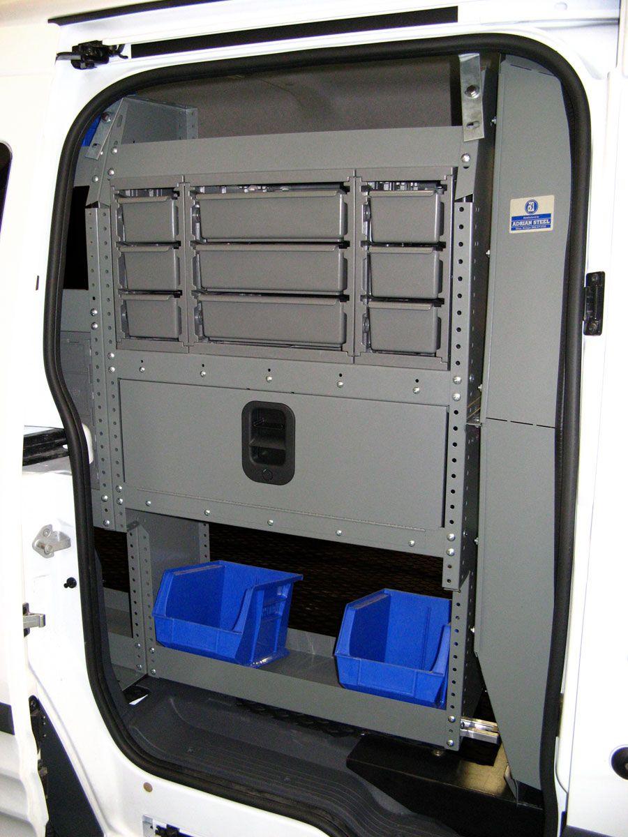 Commercial Van Interiors >> Plumbing Package For Transit Connect Commercial Van