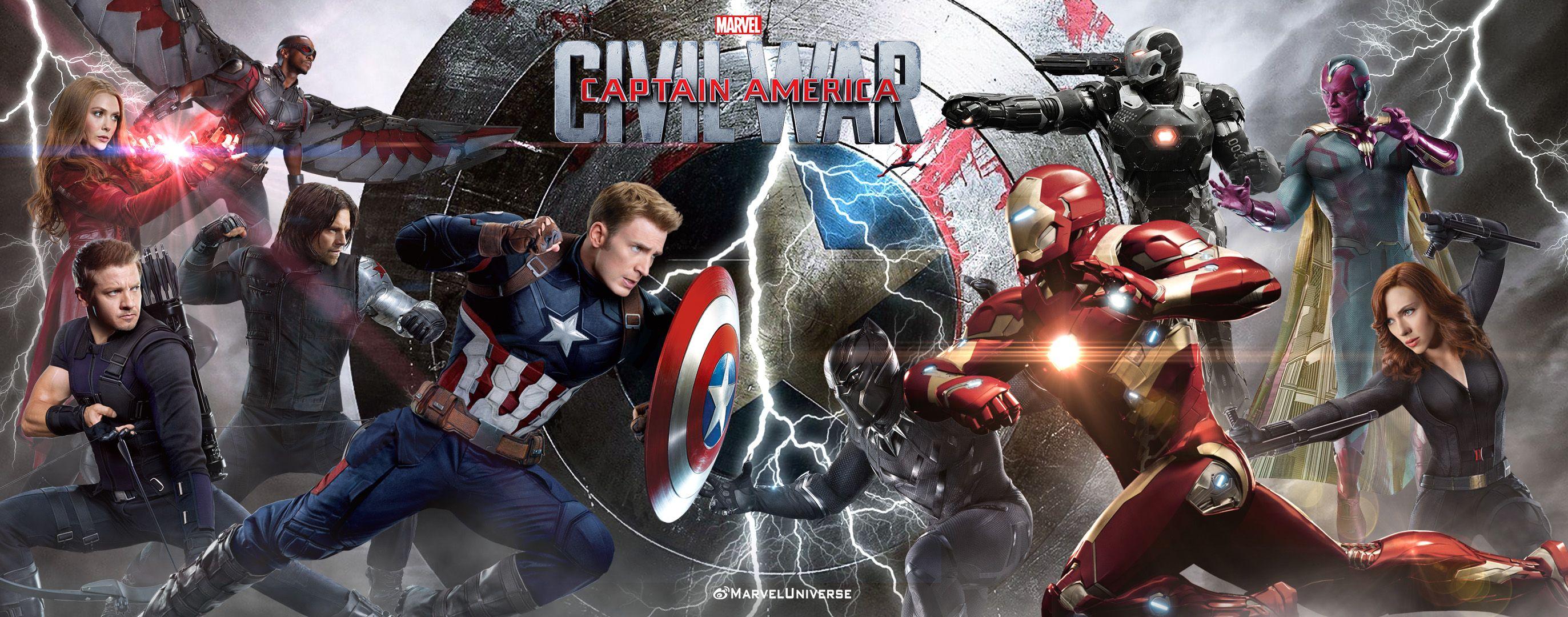 Smashing HD Wallpapers Of Captain America Civil War