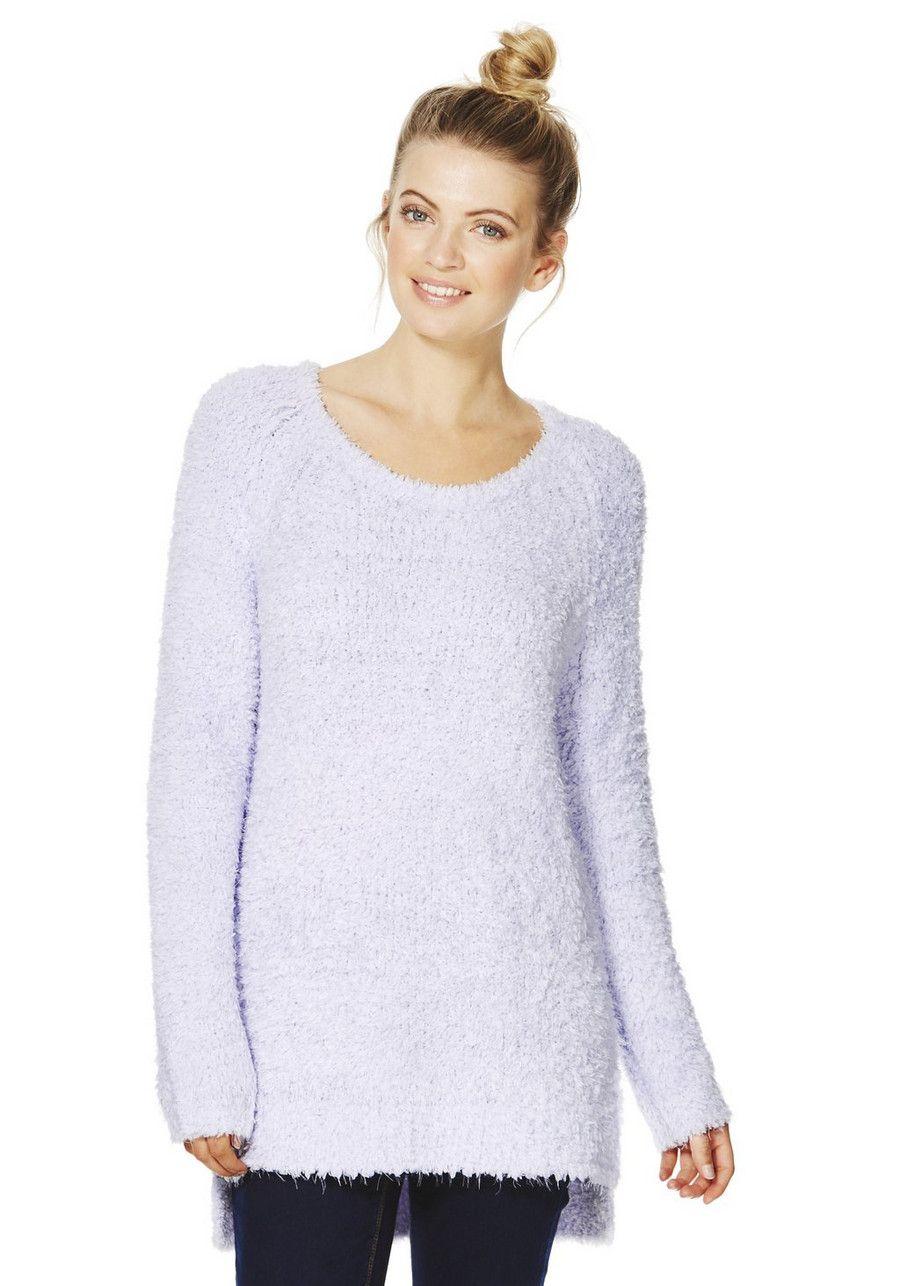 Clothing at Tesco | F&F Fluffy Jumper > knitwear > Women\'s Knitwear ...
