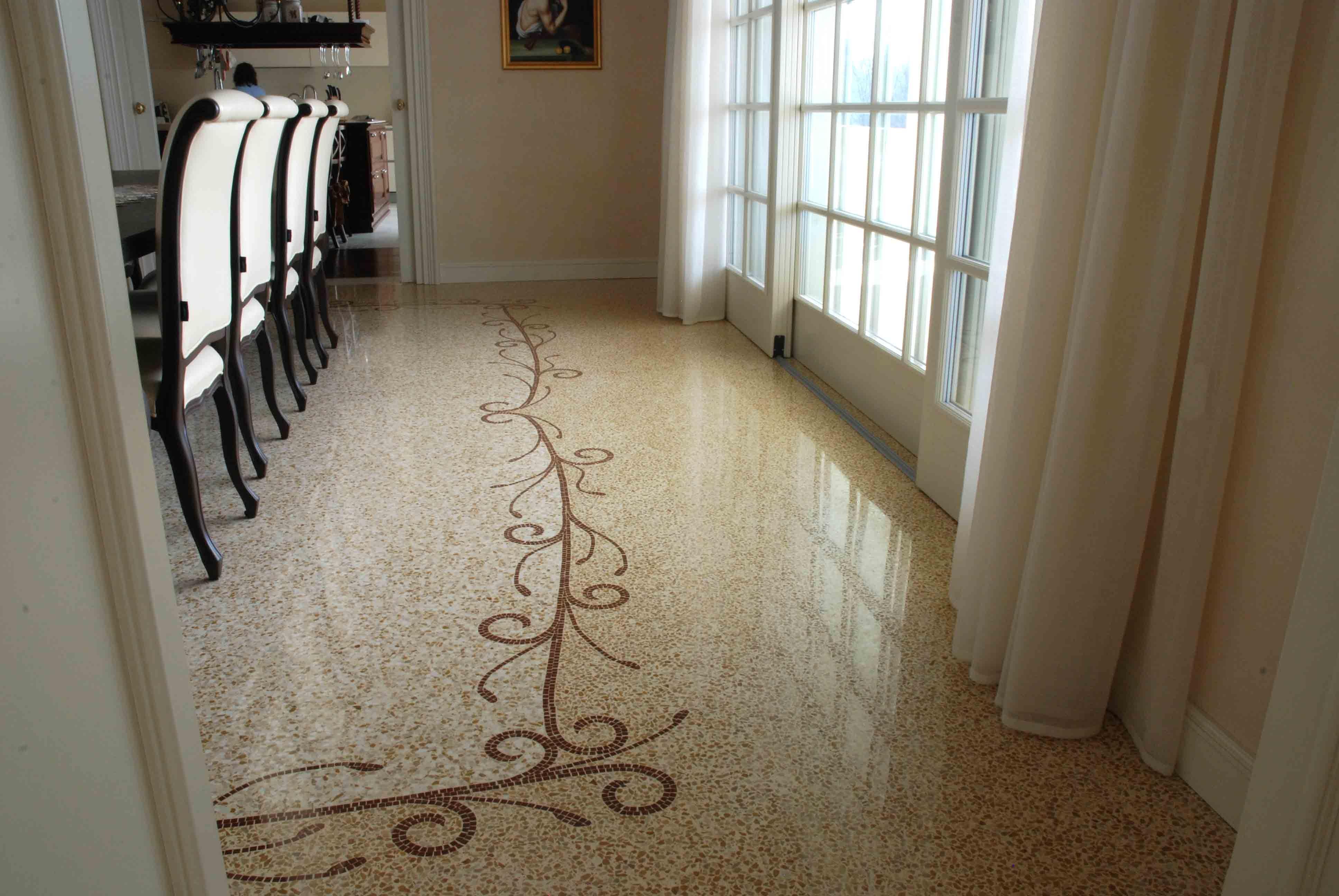 Pavimento In Terrazzo Alla Veneziana terrazzo alla veneziana terrazzo floor #terrazzoveneziano