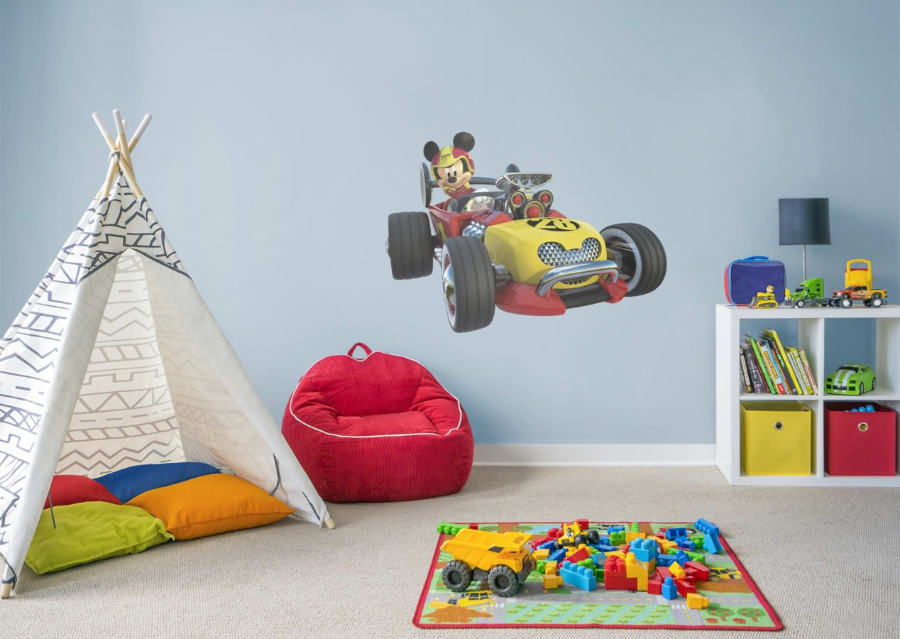 Mickey Mouse Bedroom Mickey And The Roadster Racer Wall Decal
