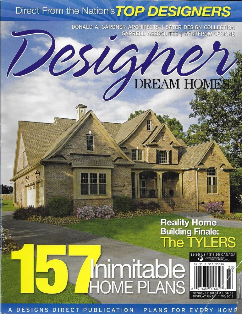 Designer Dream Homes Magazine House Plans Natural Living Mountain ...