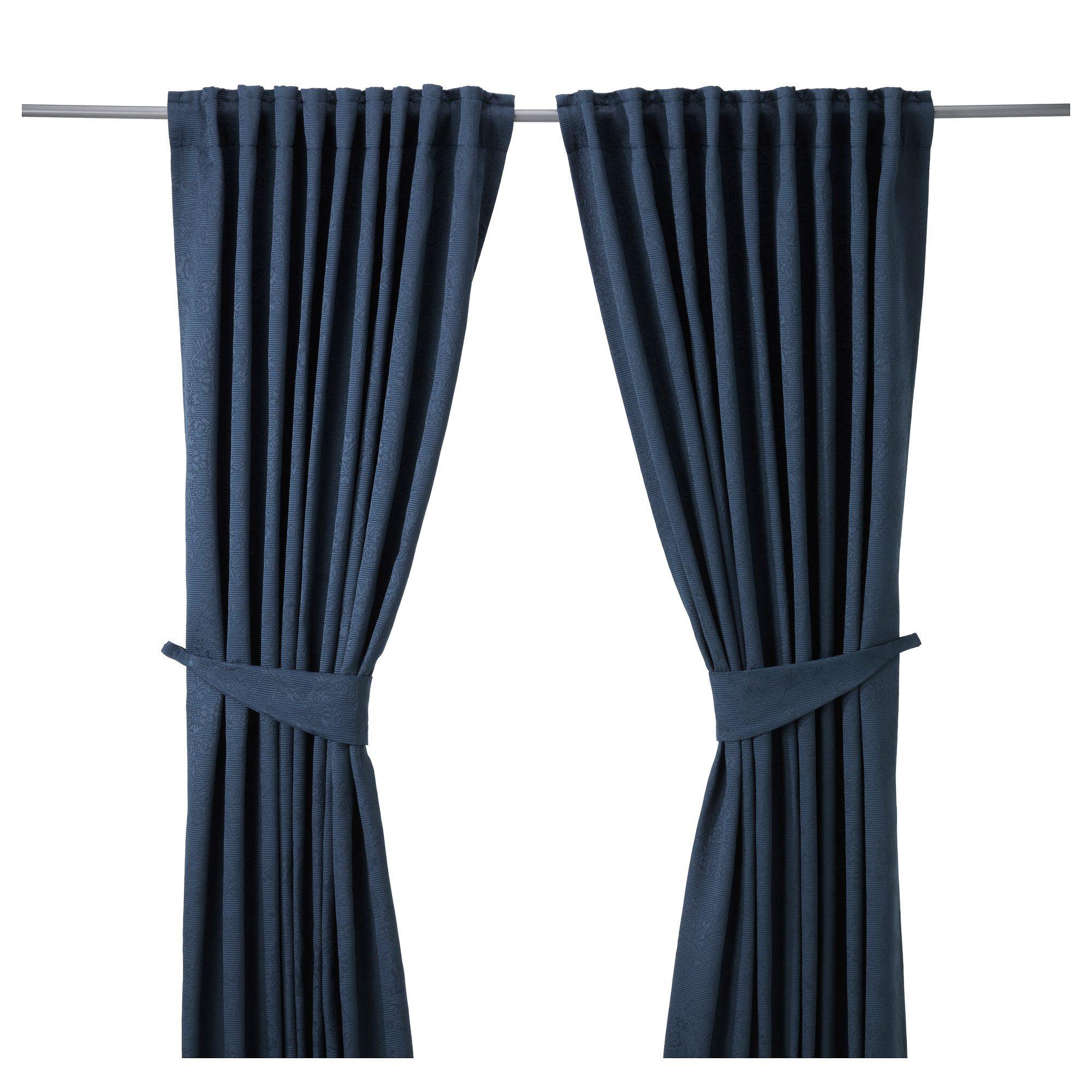 Blekviva cortinas alzapa os 1par ikea colors - Alzapanos para cortinas ...
