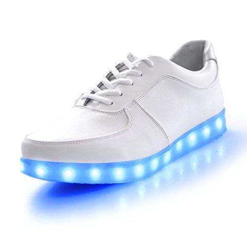 7 Colors in 1 LED Light Up Shoes Fashion Sneaker Flash Disco