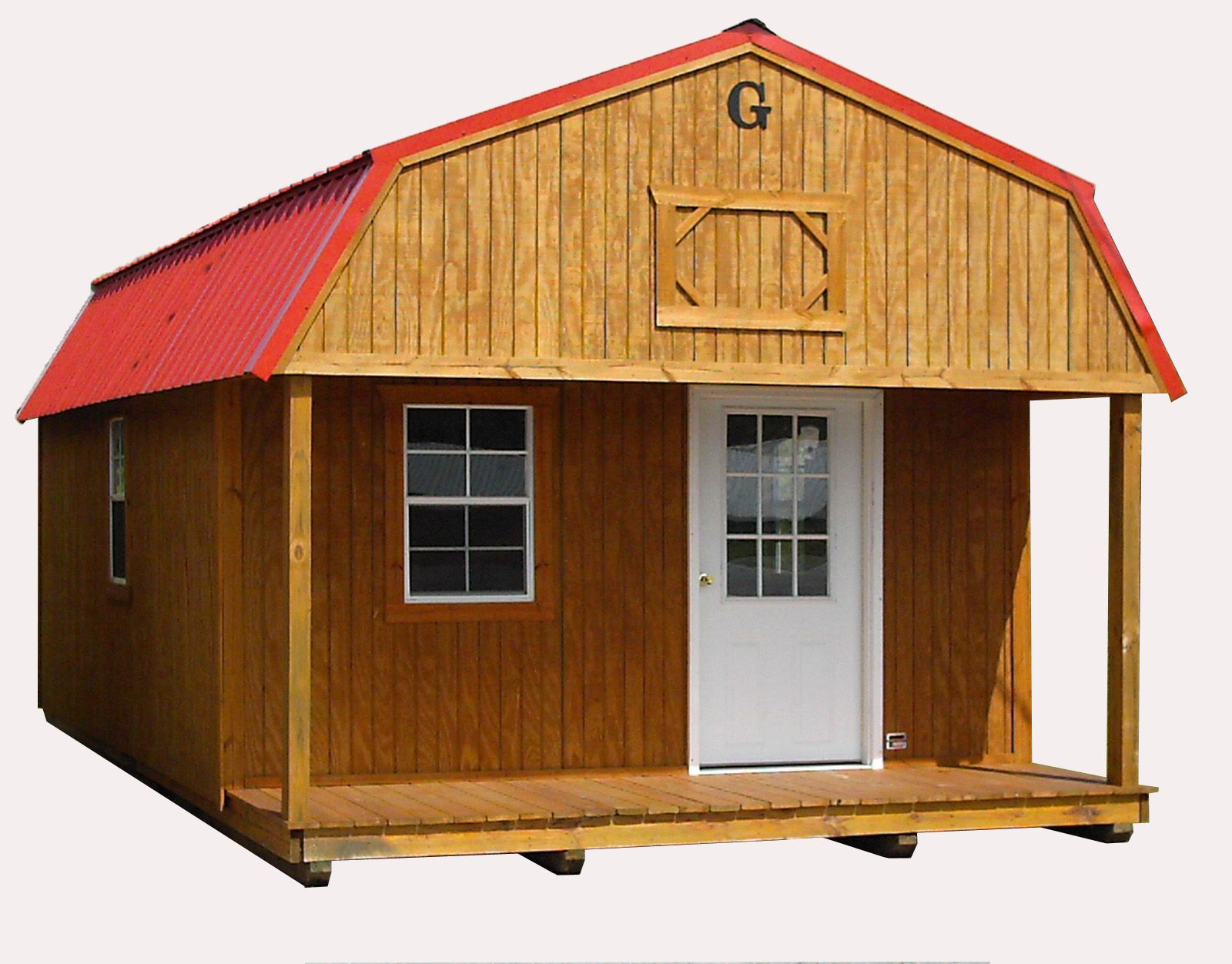 Perfect For That Hunting Or Fishing Cabin Wood Garage Kits Portable Storage Sheds Portable Storage Buildings