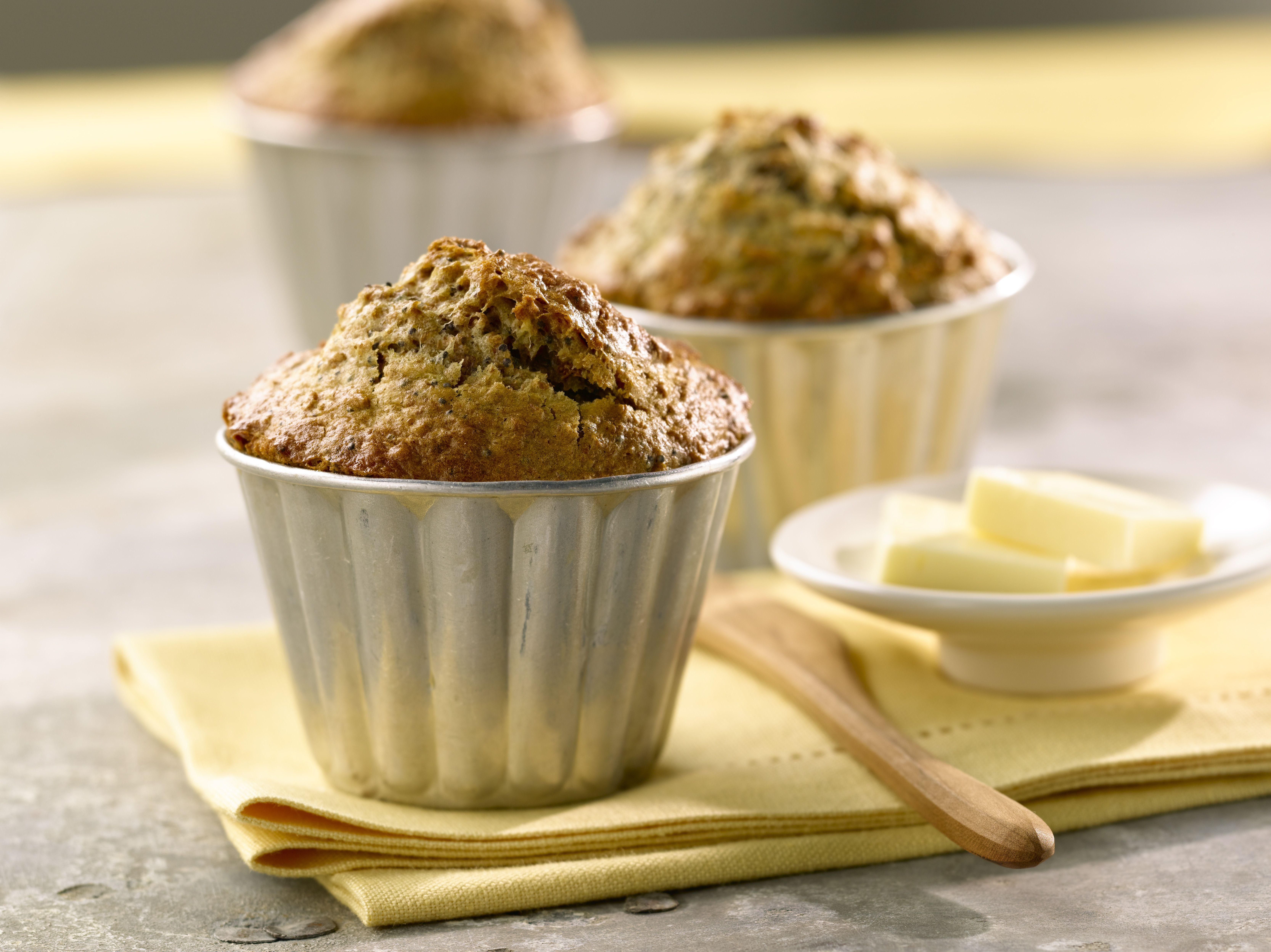 All-Bran™ Lemon Poppy Seed Muffins